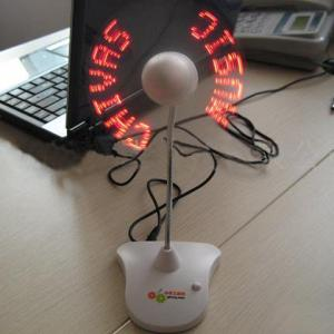 USB LED Flashing Fan